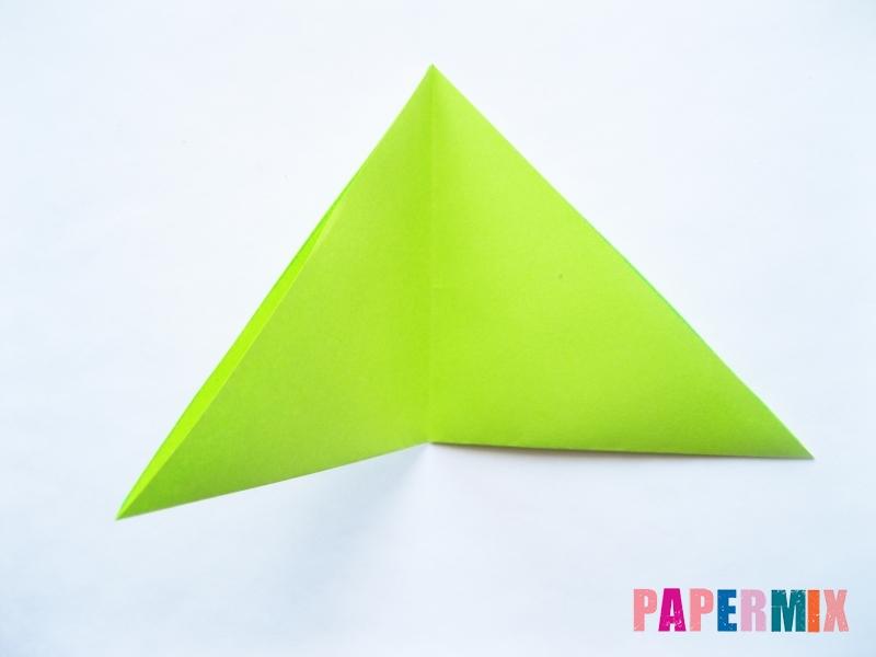 Как сделать голову лягушки из бумаги поэтапно - шаг 3