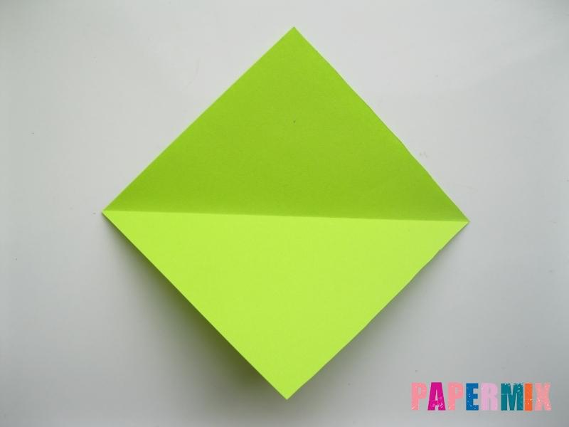 Как сделать гусеницу из бумаги (оригами) инструкция с фото - шаг 2
