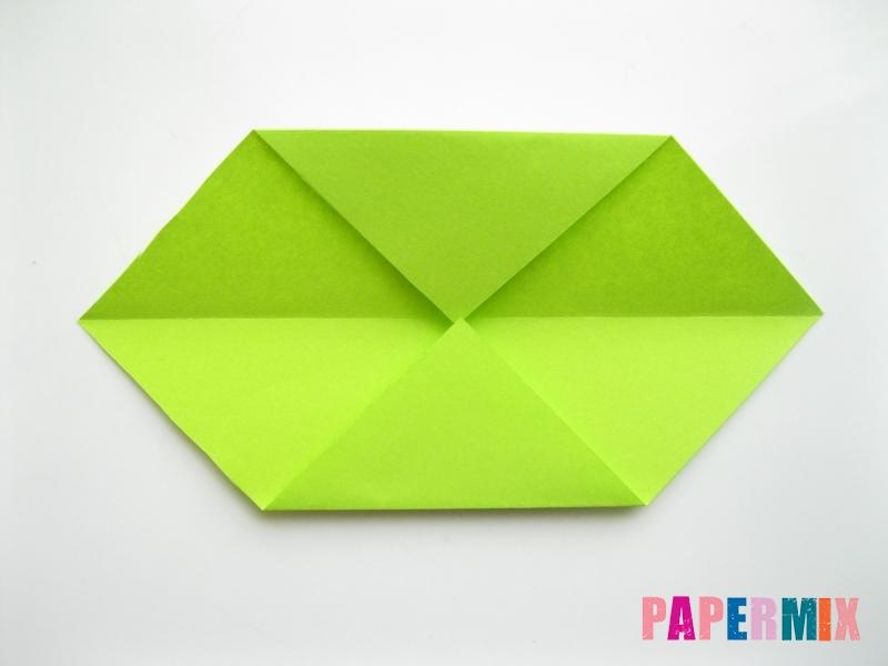 Как сделать гусеницу из бумаги (оригами) инструкция с фото - шаг 3