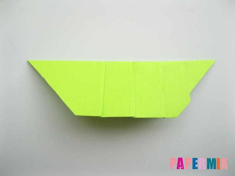 Как сделать гусеницу из бумаги (оригами) инструкция с фото - шаг 6