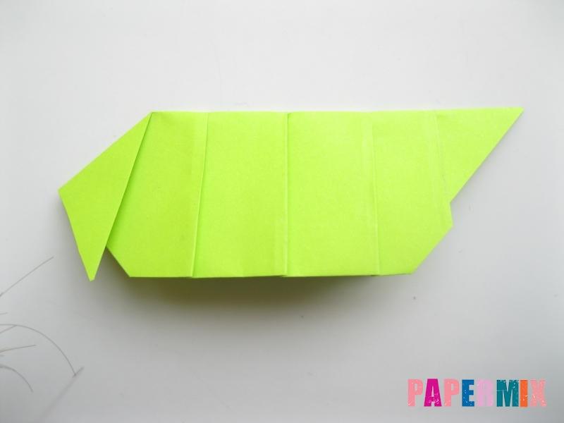 Как сделать гусеницу из бумаги (оригами) инструкция с фото - шаг 7