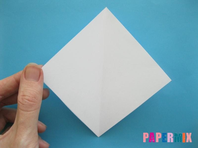 Как сделать из бумаги лебедя пошаговая инструкция - шаг 3