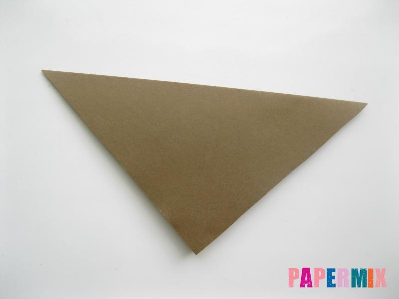 Как сделать кита из бумаги (оригами) инструкция с фото - шаг 1
