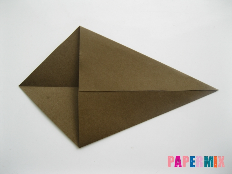 Как сделать кита из бумаги (оригами) инструкция с фото - шаг 3