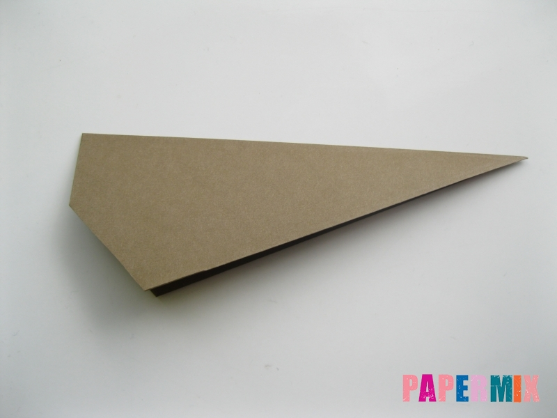 Как сделать кита из бумаги (оригами) инструкция с фото - шаг 5