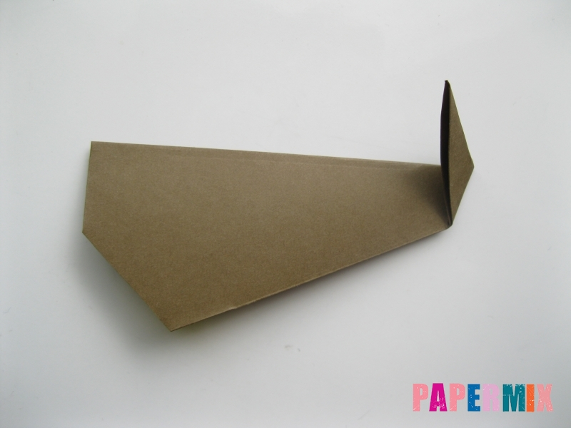 Как сделать кита из бумаги (оригами) инструкция с фото - шаг 6