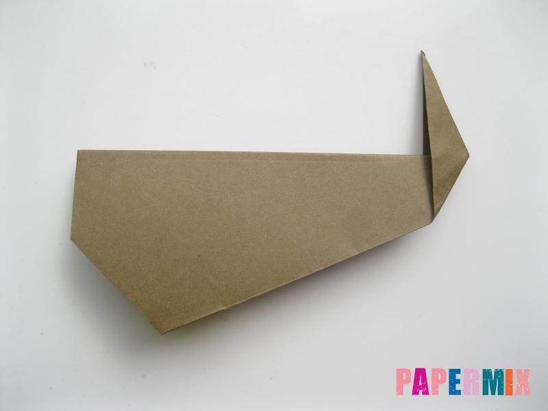 Как сделать кита из бумаги (оригами) инструкция с фото - шаг 7