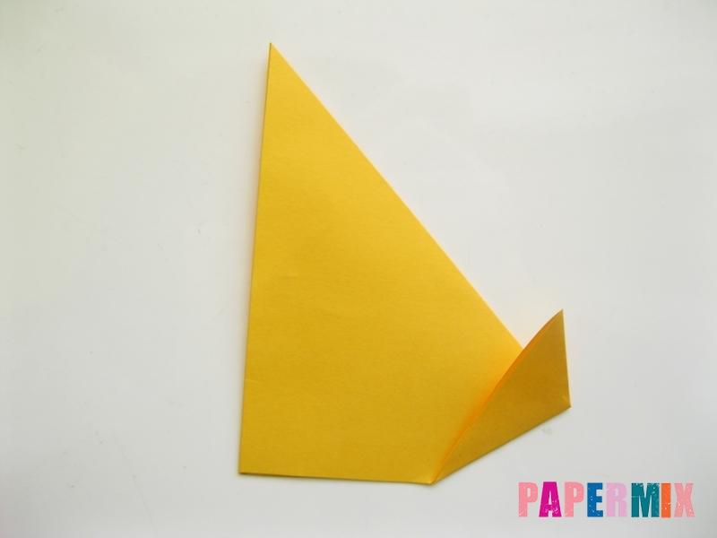 Как сделать котенка из бумаги поэтапно - шаг 2