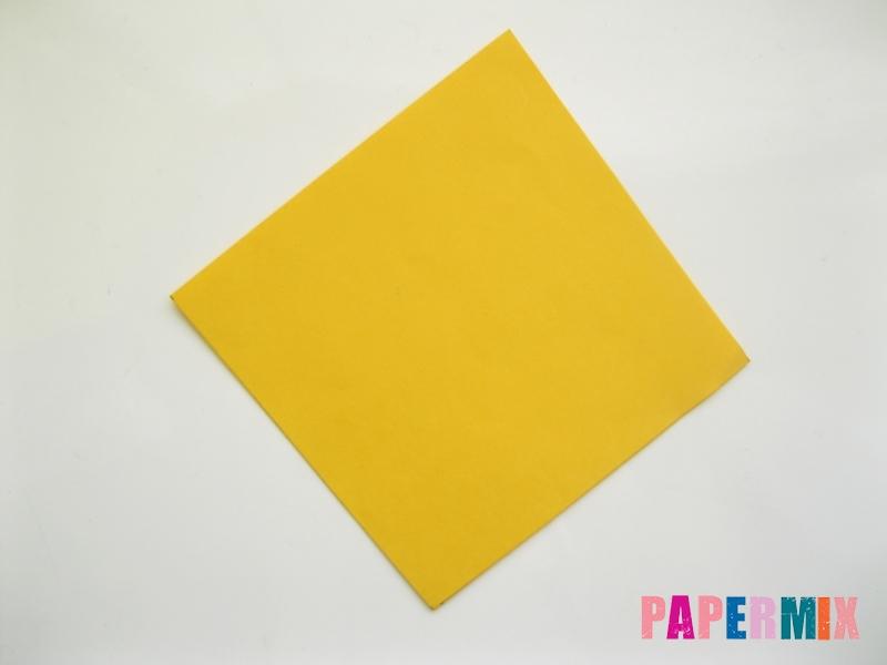 Как сделать котенка из бумаги поэтапно - шаг 3
