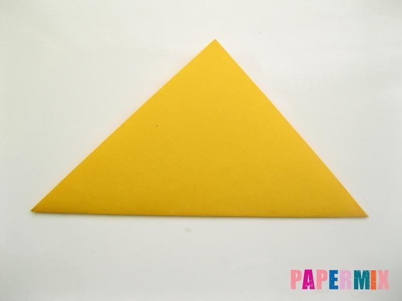 Как сделать котенка из бумаги поэтапно - шаг 4