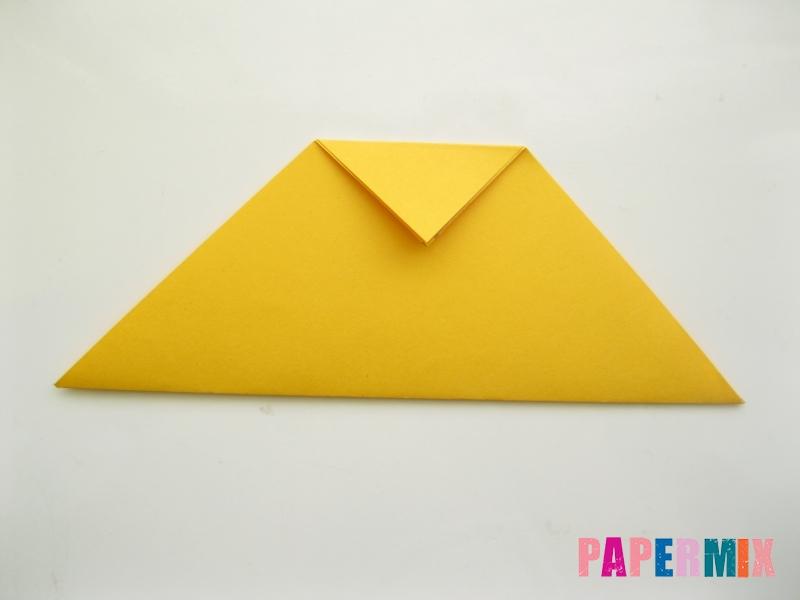 Как сделать котенка из бумаги поэтапно - шаг 5