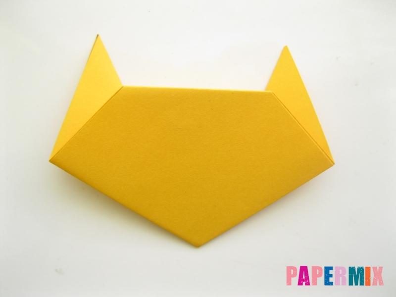 Как сделать котенка из бумаги поэтапно - шаг 7