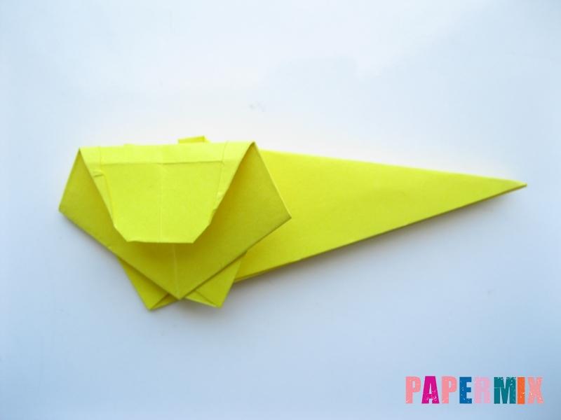Как сделать льва из бумаги (оригами) своими руками - шаг 10