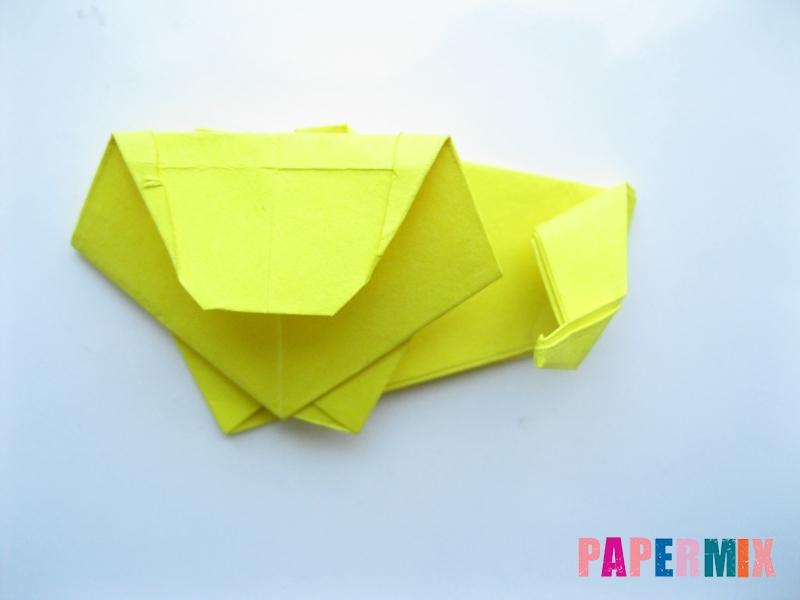 Как сделать льва из бумаги (оригами) своими руками - шаг 13