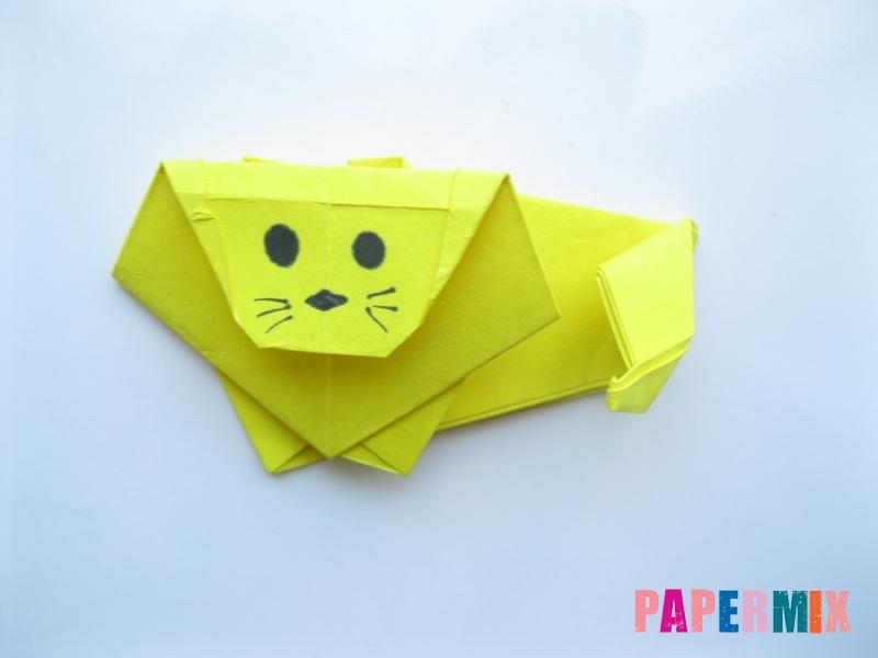 Как сделать льва из бумаги (оригами) своими руками - шаг 15