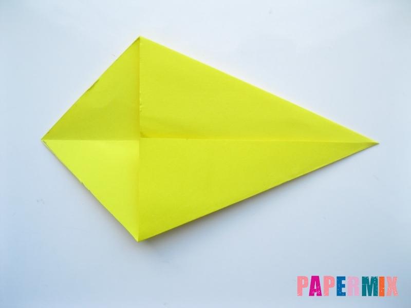 Как сделать льва из бумаги (оригами) своими руками - шаг 2