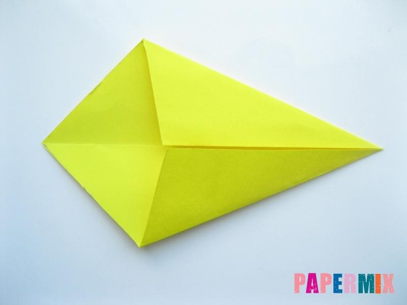 Как сделать льва из бумаги (оригами) своими руками - шаг 3