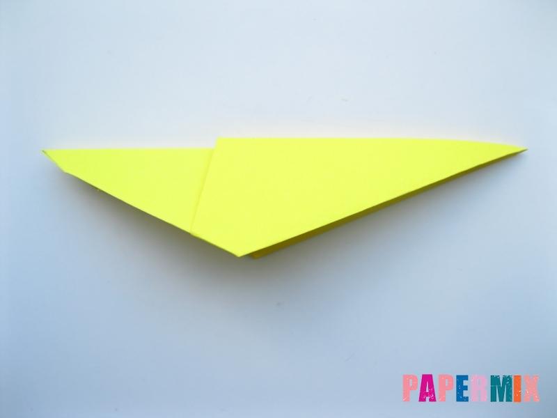 Как сделать льва из бумаги (оригами) своими руками - шаг 5