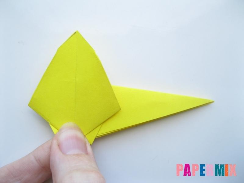 Как сделать льва из бумаги (оригами) своими руками - шаг 9