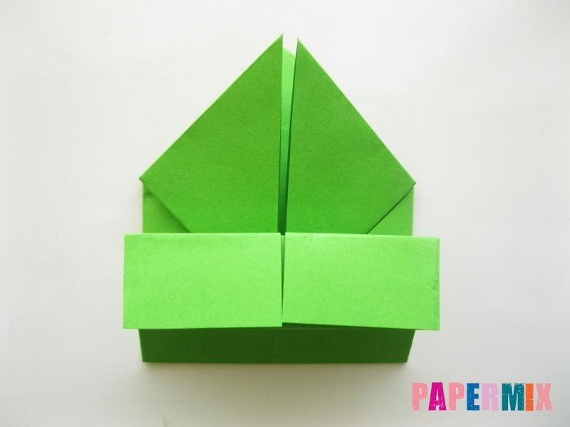 Как сделать лягушку из бумаги пошаговая инструкция - шаг 11