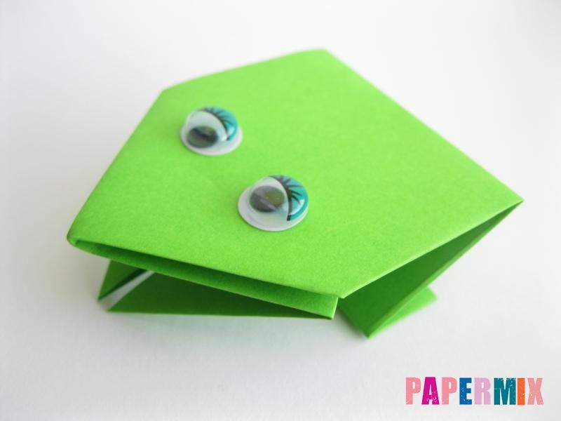 Как сделать лягушку из бумаги пошаговая инструкция - шаг 13