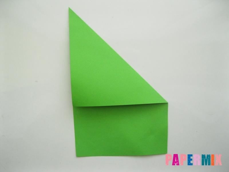 Как сделать лягушку из бумаги пошаговая инструкция - шаг 2