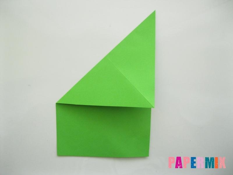 Как сделать лягушку из бумаги пошаговая инструкция - шаг 3