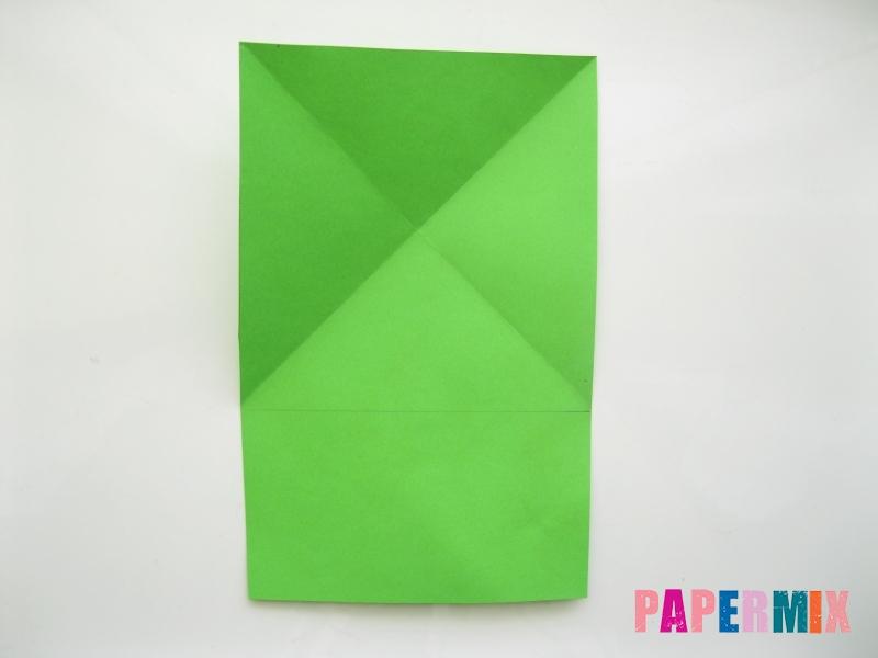Как сделать лягушку из бумаги пошаговая инструкция - шаг 4