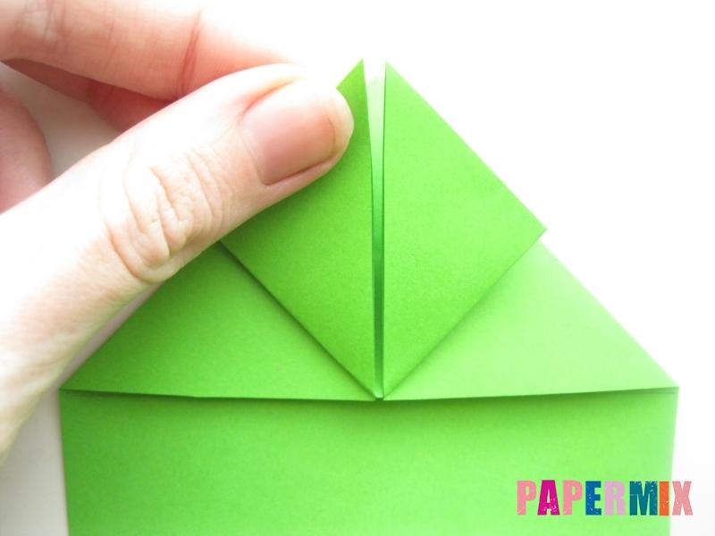 Как сделать лягушку из бумаги пошаговая инструкция - шаг 7