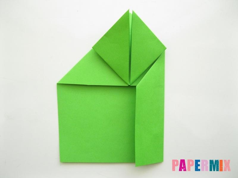Как сделать лягушку из бумаги пошаговая инструкция - шаг 8