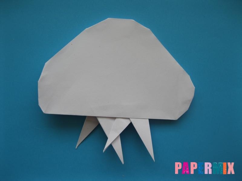 Как сделать медузу из бумаги поэтапный фото урок - шаг 10