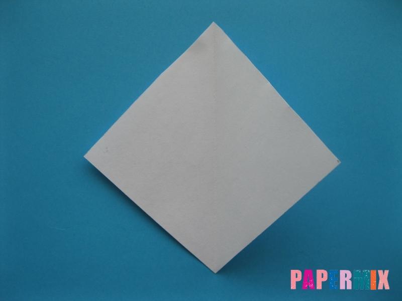 Как сделать медузу из бумаги поэтапный фото урок - шаг 4
