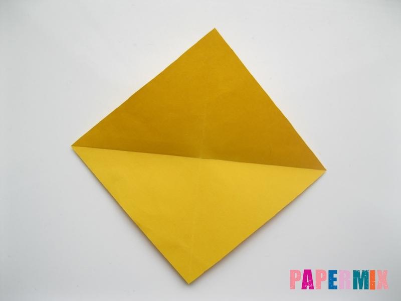 Как сделать медведя из бумаги (оригами) своими руками - шаг 1