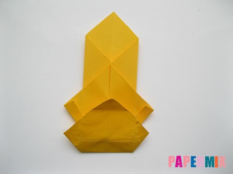 Как сделать медведя из бумаги (оригами) своими руками - шаг 11