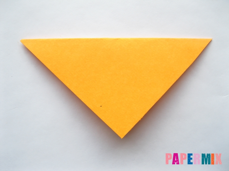 Как сделать мордочку собаки из бумаги поэтапно - шаг 2