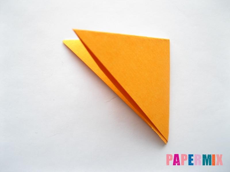 Как сделать мордочку собаки из бумаги поэтапно - шаг 3