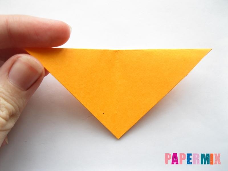 Как сделать мордочку собаки из бумаги поэтапно - шаг 4