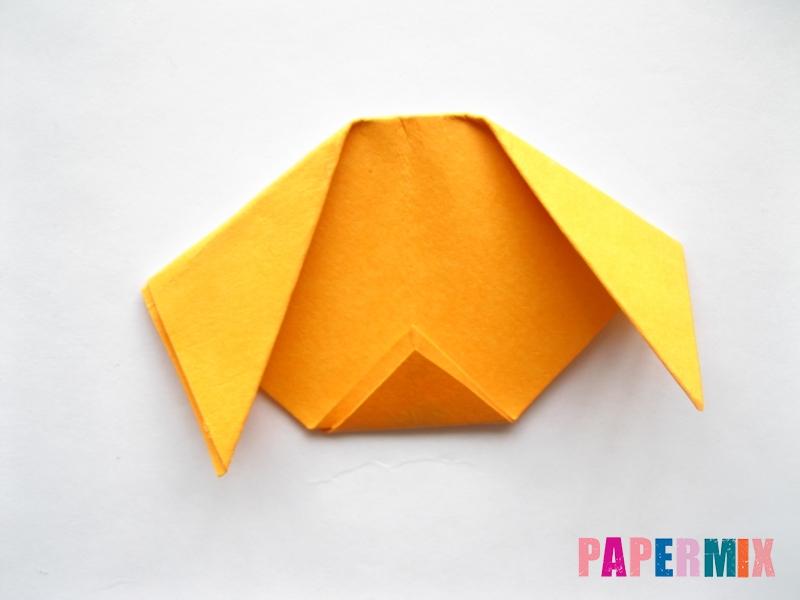 Как сделать мордочку собаки из бумаги поэтапно - шаг 6