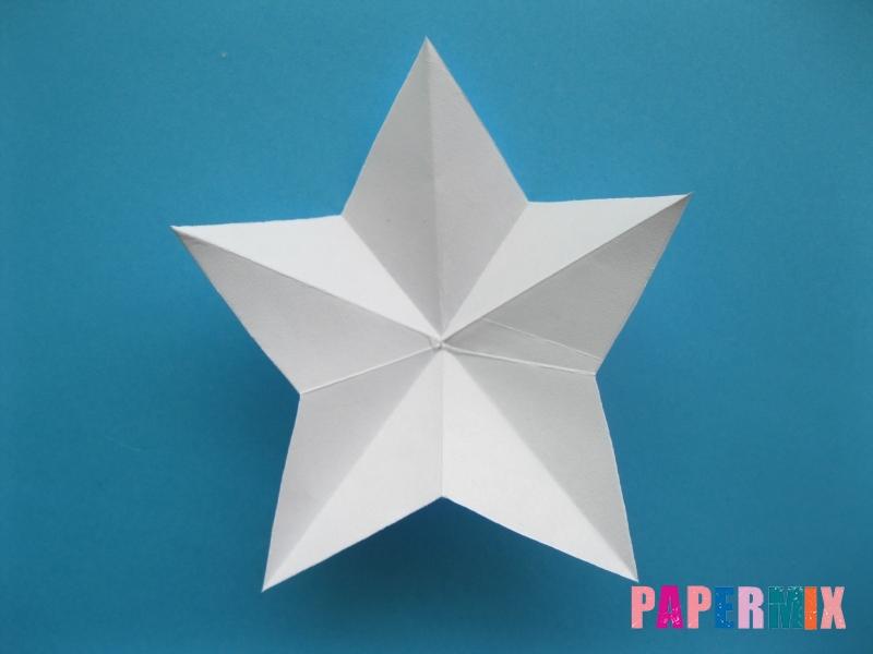 Как сделать морскую звезду из бумаги (оригами) поэтапно - шаг 10