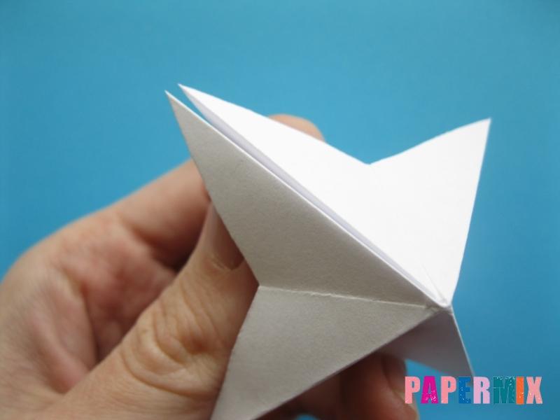 Как сделать морскую звезду из бумаги (оригами) поэтапно - шаг 11