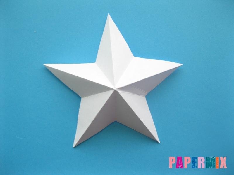 Как сделать морскую звезду из бумаги (оригами) поэтапно - шаг 12