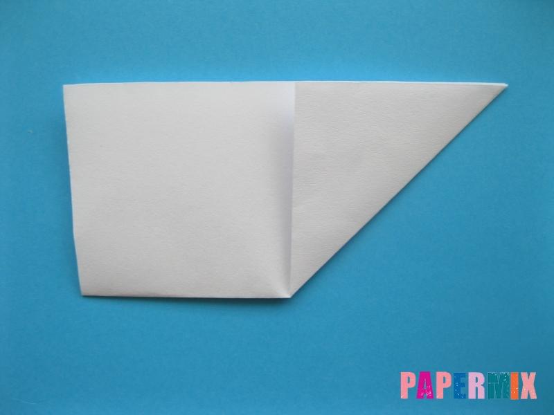 Как сделать морскую звезду из бумаги (оригами) поэтапно - шаг 2