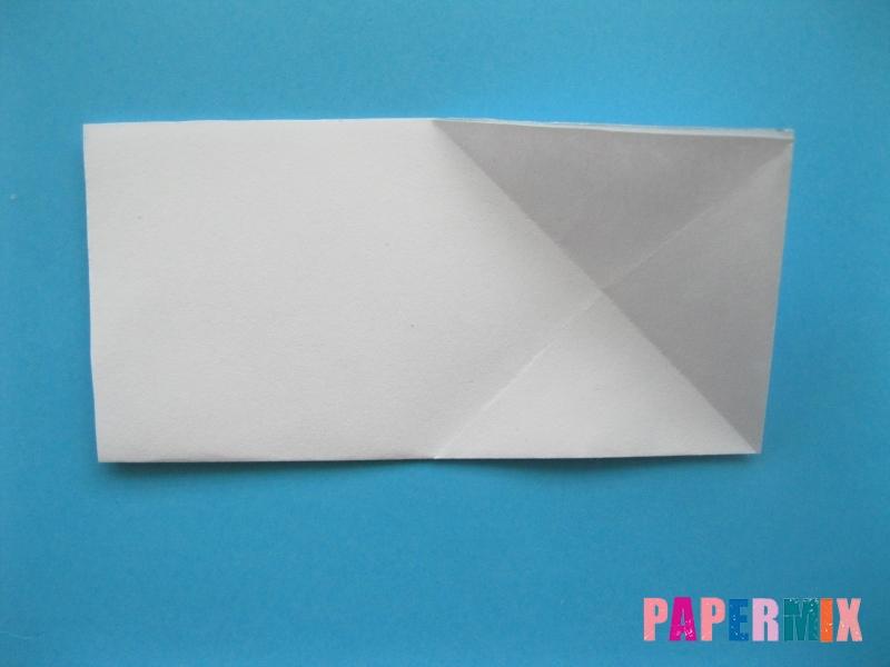 Как сделать морскую звезду из бумаги (оригами) поэтапно - шаг 4