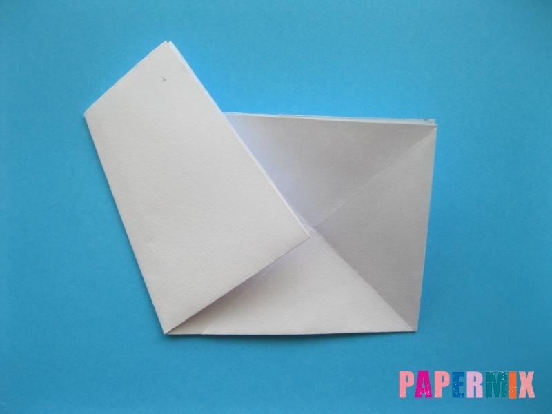 Как сделать морскую звезду из бумаги (оригами) поэтапно - шаг 5