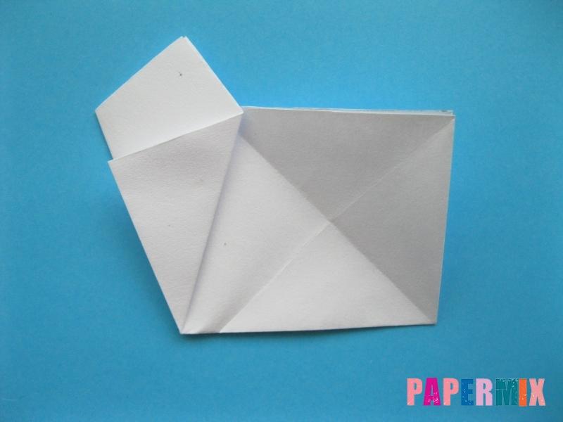 Как сделать морскую звезду из бумаги (оригами) поэтапно - шаг 6
