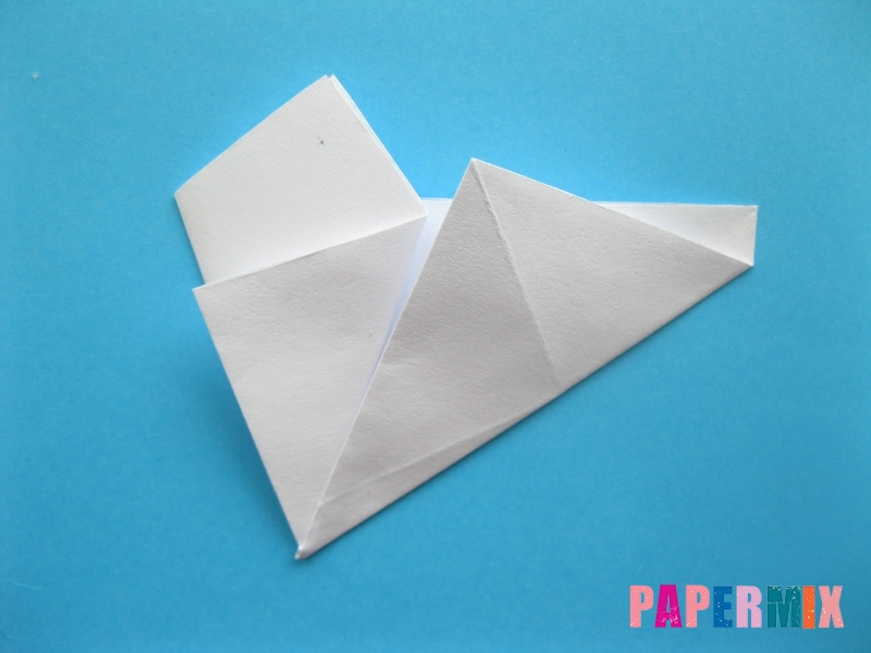 Как сделать морскую звезду из бумаги (оригами) поэтапно - шаг 7