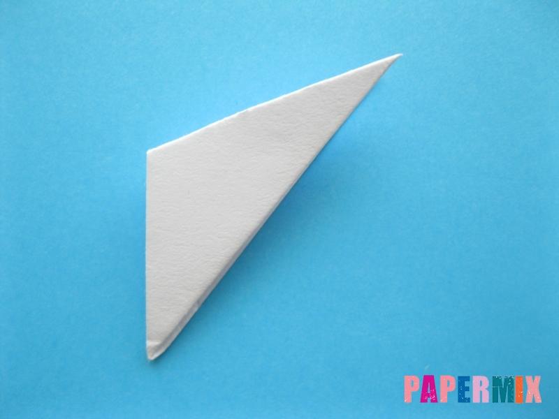 Как сделать морскую звезду из бумаги (оригами) поэтапно - шаг 9