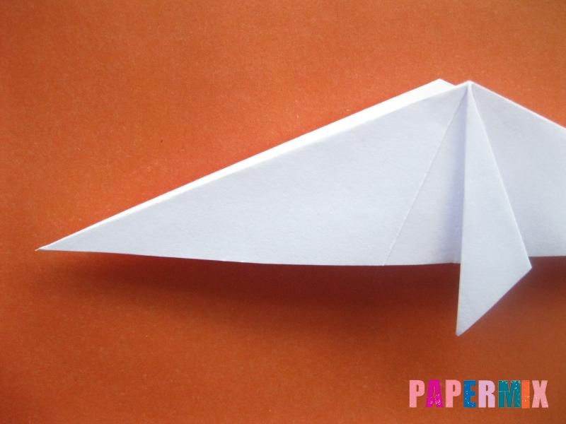 Как сделать моржа из бумаги (оригами) своими руками - шаг 11