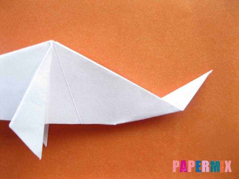 Как сделать моржа из бумаги (оригами) своими руками - шаг 13