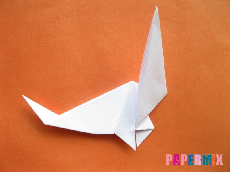 Как сделать моржа из бумаги (оригами) своими руками - шаг 14